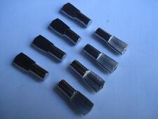 Lot de 8 supports acier 5mm pour étagère tablette pour meuble pion taquet
