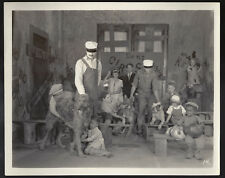 "Original early 1920s candid OUR GANG ""Trained Movie Dogs"" rare Henry East - Asta"