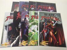 BLACK TERROR #1-14 (DYNAMITE/SUPERPOWERS/ALEX ROSS/1217229) NEAR FULL SET OF 9