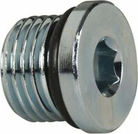 25 PACK Parker 8 HP5ON-S SAE Hollow Hex Head Pipe Plug 3/4-16 ORB Male Steel
