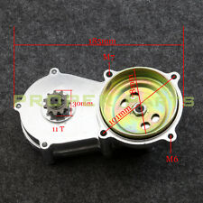11T TRANSMISSION GEAR BOX 2-STROKE Clutch 49cc Mini Moto POCKET Bike Silvering