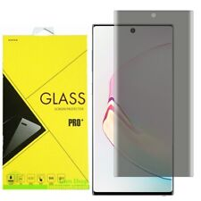 For Samsung Galaxy Note 10/10+ Plus Privacy 3D Tempered Glass Screen Protector