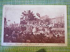 FOTO CARTOLINA PUBBLICITà CARNEVALE VIAREGGIO 1928