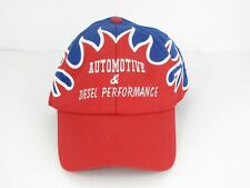 OTTO Hat Flame Pattern Automotive Diesel Performance Ball Cap Adjustable