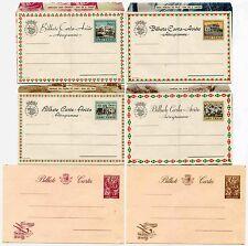 Portogallo CABO VERDE CARTOLERIA postale AEROGRAMMI 6 diverse... Belle