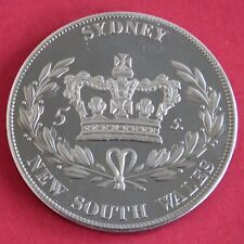 AUSTRALIA QEII DIAMOND JUBILEE 2012 PLATINUM COLOURED PROOF PATTERN CROWN