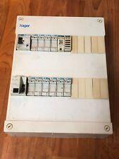 coffret tableau électrique    hager et disjoncteur differentiel 40A 30mA