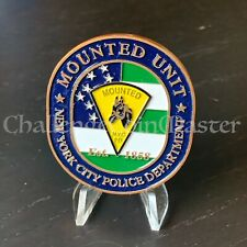 C80 NYPD MOUNTED UNIT HORSE Police CHALLENGE  COIN