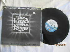 """THE ARAGORN BALLROOM ORCESTRA THEME FROM  LORD OF THE RINGS VINYL LP RECORD 12"""""""