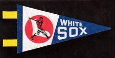 "1970 's VINTAGE  CHICAGO WHITE SOX  MLB Souvenir Mini Pennant  7"""