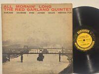 Red Garland All Mornin Long PRESTIGE NYC MONO DG RVG John Coltrane