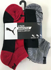 NWT 6 Pair PUMA Mens Socks 10-13 Sportstyle Cushion Mesh Venti Low Cut Shoe 6-12
