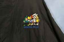 General Mills Cereal Windbreaker Jacket Trixx Lucky Charms Coco Puffs Cheerios
