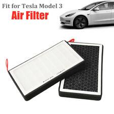 PCX HEPA Air Filter Essential Accessories Fit for Tesla Model 3 Owners 4-Door
