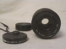 Tokina SD lens 70 - 210mm 1: 4 - 5.6 w/ Tiffen 52mm SKY 1-A filter for Pentax-K