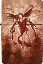 Amy Brown Elemental Fairy Metal Lighter Fire Element Refillable Style Flames New