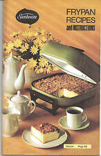 Sunbeam Frypan Recipes Cookbook - ©1976 - 47 pages - Vintage Cookbook