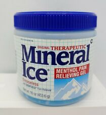 Mineral Ice Therapeutic Pain Relieving Gel, 16 oz