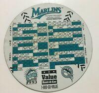 Florida Marlins Baseball Team Inaugural Year 1993 Magnet Schedule Free Shipping