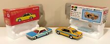 Lot of 2 Rare Nissan Taxi Tomica Dandy Gloria 1/43 , Diapet Yonezawa Cedric 1/40