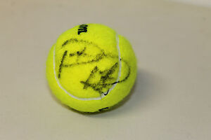 PATRICK RAFTER HAND SIGNED TENNIS BALL UNFRAMED + PHOTO PROOF & C.O.A