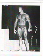 Arnold Schwarzenegger Bodybuilding Muscle Photo B&W