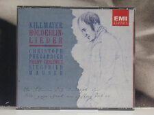 WILHELM KILLMAYER - HOLDERLIN LIEDER / MAUSER / PREGARDIEN BOX 2 CD LIKE NEW