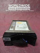 IBM 18P6145 22R0612 72.8GB 10K RPM SSA Disk Hard Drive Module pSeries w/ Bracket