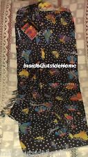 Laurel Burch Swimsuit Cover Up Sarong Wrap Butterflies Beach Cruise Pool Fabric