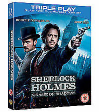 Sherlock Holmes - A Game Of Shadows (Blu-ray, 2012)