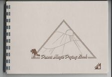 Small Showgard Desert Magic Stamp Drying Book