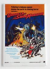 Godzilla vs. Smog Monster FRIDGE MAGNET (2.5 x 3.5 inches) movie poster