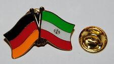 Amistad spin pin ele Alemania/irán bandera button metal pins nuevo