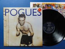 THE POGUES  PEACE & LOVE  WEA 89 A2B2 German LP MINT
