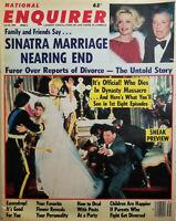 National Enquirer July 30 1985 Dynasty Massacre Sneak Preview Sinatra Divorce