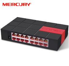 MERCURY SG116M 16 Port RJ45 Gigabit Switch 1000Mbps Network Desktop Switch