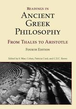 Readings in Ancient Greek Philosophy: From Thales to Aristotle, 4th Edition,
