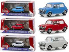 "Austin Mini Cooper 3 piece Set ""The Italian Job"" (1969) Movie 1/43 Diecast Model"