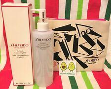 SHISEIDO GINZA PERFECT CLEANSING OIL BNIB SEALED 10 oz 300ml + makeup travel bag