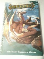 Dragons Ciruelo Weekly Engagment Planner 2011 Fantasy Art Collectible
