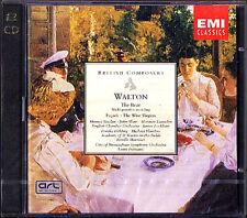 WALTON Facade The Bear Wise Virgins LOCKHART MARRINER 2CD Frémaux Fremaux