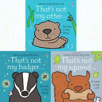 Thats not my series 5 :3 books bundle collection set fiona watt Otter badger squ