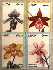 GHANA 2001 3334-49 Block 420-21 Orchideen Orchids Blumen Flowers Flora MNH