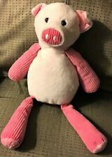 """SCENTSY Buddy Penny The Pink Pig Plush 16"""" RETIRED Go Go Goji Scent Pack 2010"""