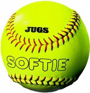 """Jugs Sports 12"""" Softie Yellow Softball (Dozen)"""