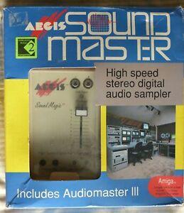 RARE - Aegis Sound Master Sound Sampler Hardware with Audiomaster 4 - Amiga
