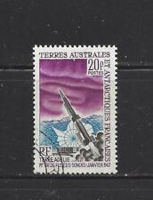 FR SOUTHERN & ANTARCTIC TERR - 29 - USED - 1967 - 1ST SPACE ROCKET FROM ADELIE