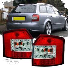 REAR TAIL LED LIGHTS RED-CLEAR FOR AUDI A4 B6 8E 00-04 AVANT LAMPS