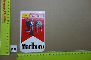 Alter Aufkleber Zigaretten Motorsport MARLBORO USA Country-State NEW MEXICO
