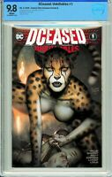 DCeased: Unkillables #1 Comics Elite Ryan Brown Exclusive A - CBCS 9.8!